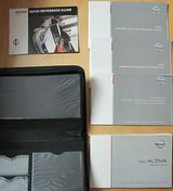 2003 Nissan Altima Owner's Manual and Supplemental Guides with Case in Kingwood, Texas