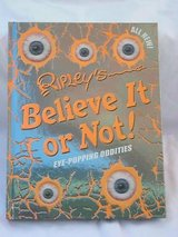 Ripleys Believe It Or Not Eye Popping Oddities ANNUAL Edition Hardcover Book in Morris, Illinois
