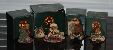boyds bears & friends lot bearstone collection 2236 2241 228311 228314gcc m-500 in Schaumburg, Illinois