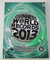 Guinness World Records 2013 Hard Cover Coffee Table Book HUGE 288 Pages in Morris, Illinois