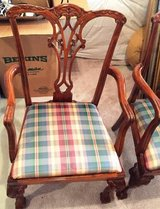 Cherry Clawfoot Dining Room Chairs-Set of 6 in Bartlett, Illinois