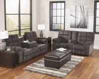 ** BRAND NEW ** ASHLEY RECLINING GREY GRAY SOFA AND LOVE SEAT ** in Nashville, Tennessee