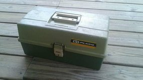 Old Plano tackle box in CyFair, Texas