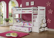 ***Bunk Bed with Trundle and Staircase Storage***** in San Clemente, California