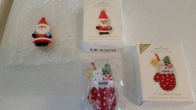 Hallmark Keepsake collectible ornaments new in boxes in Temecula, California