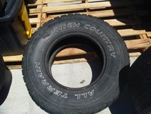 one well used condition falken high country all terrian tire lt 265/75/16 80310 in Huntington Beach, California