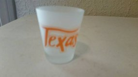Texas frosted style shot glass (new) in Vista, California