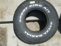 one excellent sport king steel radial a/t off road tires 33x12.50r 15lt 80296 in Fort Carson, Colorado