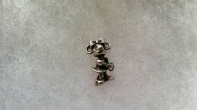 Vintage 3D solid sterling silver stamped Minnie Mouse charm in Vista, California