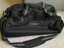 Eddie Bauer Rolling Duffel Bag Suitcase in Lockport, Illinois