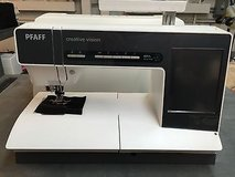 pfaff creative vision 5.5 computerized sewing & embroidery machine low hours use in Perry, Georgia