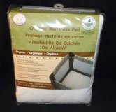 "New! Organic Snoozy Play Yard Mattress Pad 27x37"" in Joliet, Illinois"