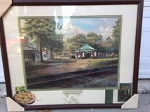 FRIED GREEN TOMATOES - WHISTLE STOP IN JULIET, GA - FRAMED  PICTURE in Warner Robins, Georgia