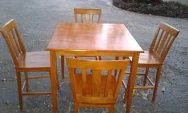 All Wood Dining Set in MacDill AFB, FL