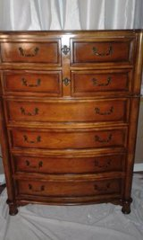 All wood Drexel chest of drawers in Saint Petersburg, Florida