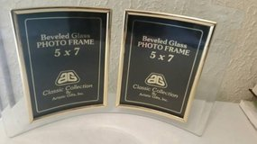 5x7 new Beveled glass dual photo holders in Vista, California