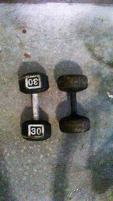 30 Pound Dumbbell Set in Beaufort, South Carolina
