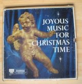 joyous music for christmas time 4 record box set vinyl in excellent condition in Bolingbrook, Illinois