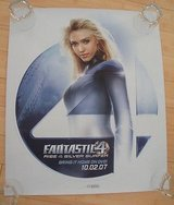 jessica alba poster fantastic 4  special edition thick 26 x 22 in Plainfield, Illinois