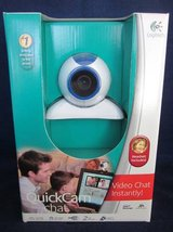 Logitech QuickCam Chat Web Cam ~ NEW in BOX in Naperville, Illinois