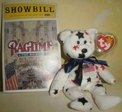 Ragtime Musical Ty Glory Beanie Playbill Showbill Program NYC Lea Michele in Glendale Heights, Illinois