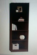 Two 6' Five-Shelf Bookshelves by Staples in Kankakee, Illinois