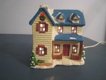 Lighted Christmas village HOUSE holiday building in Bolingbrook, Illinois