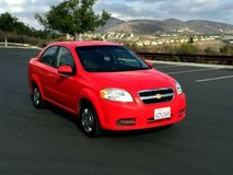 2011 Chevrolet Aveo LT - automatic, clean title. in Miramar, California