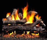 USED Natural Gas Fireplace Logs with gas base, Vented and Vent-Free in Camp Lejeune, North Carolina