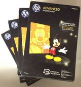 HP Advanced Photo Paper - 4 pack in Bellaire, Texas
