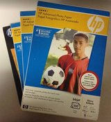HP Advanced Photo Paper 4 pack in Bellaire, Texas