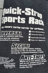 *** NEW Quick-Strap Sports Rack cartop carrier in Sugar Land, Texas