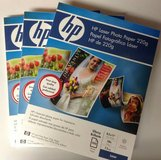 """HP Photo Paper 3 pack  8.5 x 11"""" in Sugar Land, Texas"""
