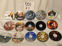 lot of 30 dvds, discs only, movies & tv,comedy, drama, mystery,lot#1 ex-rentals in Batavia, Illinois