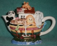NOAH'S ARK TEAPOT (ceramic) in Naperville, Illinois