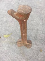 Vintage Cast Iron Shoemaker/Cobbler Shoe Repair Stand & Form Anvil in Warner Robins, Georgia