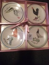 Struttin Feathers Roosters and Shoes plates set in Macon, Georgia