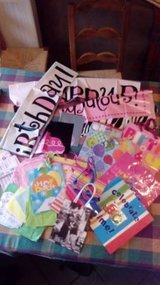 Lot Birthday Gift Bags et al in Lockport, Illinois