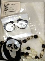 Lee Sands Panda Necklace and Earring Set in Lockport, Illinois
