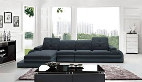 "***Modern Fabric/Leather Sectional**""Cassidy's""*** in San Clemente, California"