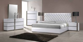 "Modern White Italian Made Bedroom Set ""Camila"" in San Clemente, California"