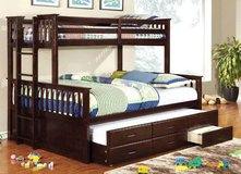 "**2 colors**twin xl over queen bunk bed w/trundle ""Devyn's"" in San Clemente, California"