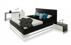 *****Infinito Black and White Contemporary Bedroom Collection***** in San Clemente, California