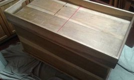 Large All Wood Hope Chest in MacDill AFB, FL