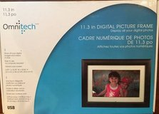 Brand New Omnitech 11.3 in Digital Picture Frame in Glendale Heights, Illinois