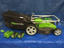 *GreenWorks G-MAX 40V 19-Inch Cordless Lawn Mower in Aurora, Illinois