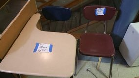YOUNG ADULT SCHOOL DESKS WITH CHAIRS. 50+ AVAILABLE! in DeKalb, Illinois