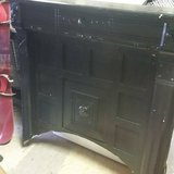 ANTIQUE HAND CARVED FIRE PLACE SURROUND AND MANTLE in DeKalb, Illinois