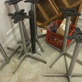COMMERCIAL/ RESTAURANT TABLE BASES. 7 AVAILABLE! in DeKalb, Illinois