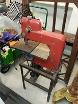 Antique Dunlap Brand Band Saw ca. 1940's- Cool Space Age Look! in DeKalb, Illinois